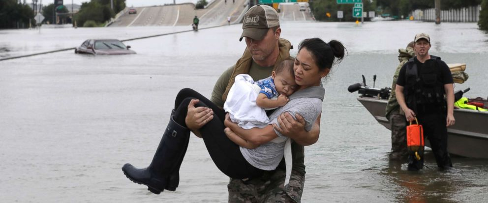 Connecting Angels Hurricane Harvey Disaster Relief